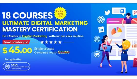 ULTIMATE DIGITAL MARKETING MASTERY CERTIFICATION